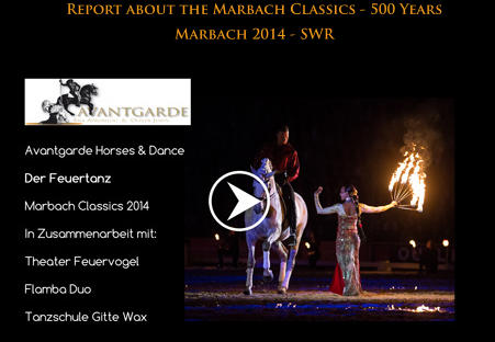 Report about the Marbach Classics - 500 Years Marbach 2014 - SWR